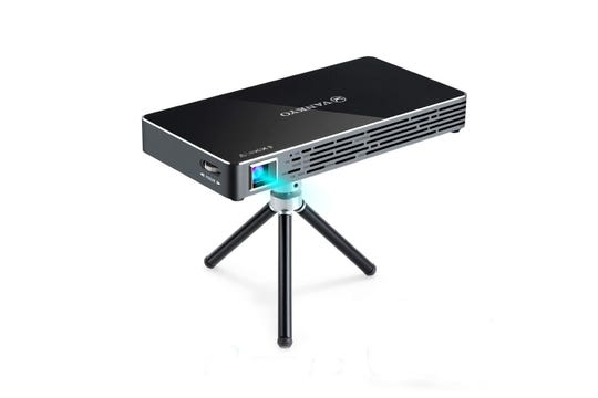 The Vankyo Passport M50 DLP mini projector.