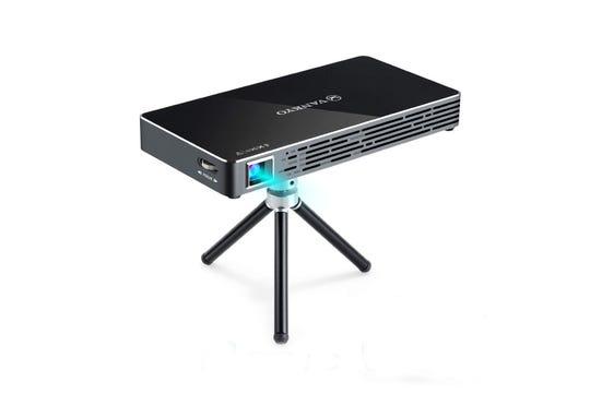 The Vankyo Passport M50 DLP mini projector.