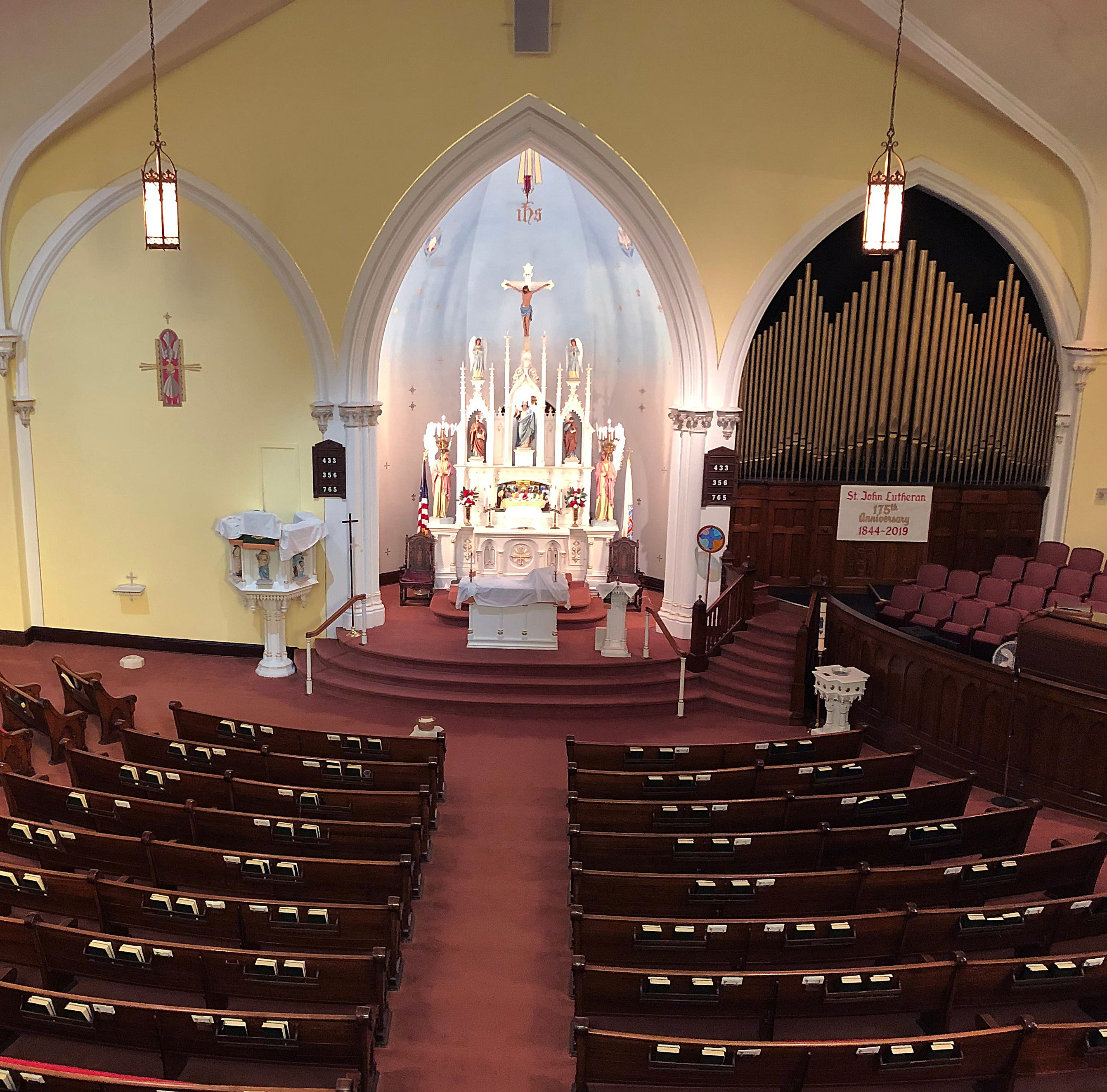 Historic church, new home for a congregation: God's hand at work