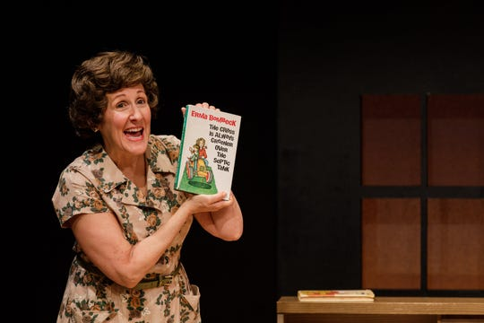 Pam Sherman in Geva production of Erma Bombeck: At Wit's End.