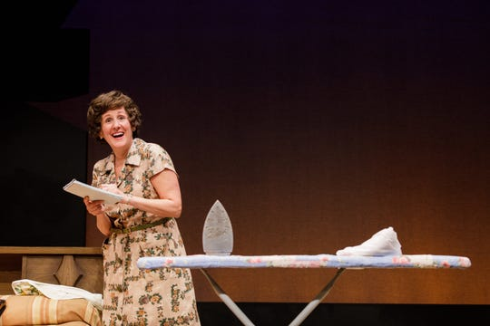 Pam Sherman in last year's Geva production of Erma Bombeck: At Wit's End.