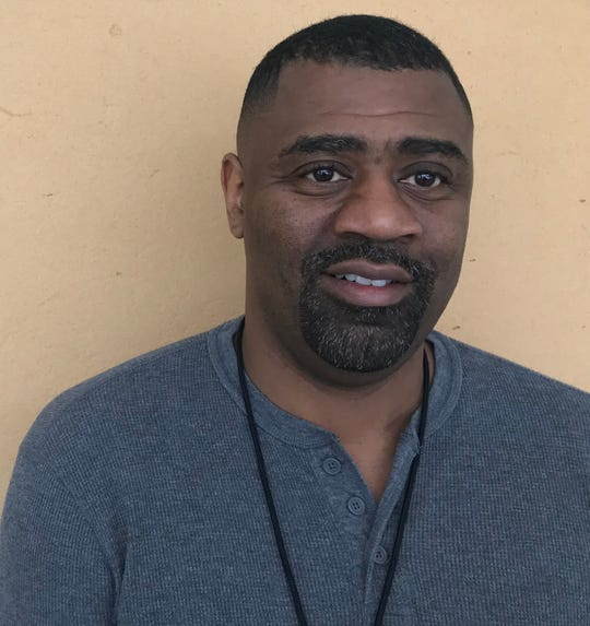 East High assistant basketball coach Tony Scott