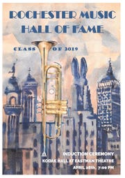 Rochester Music Hall of Fame 2019 poster