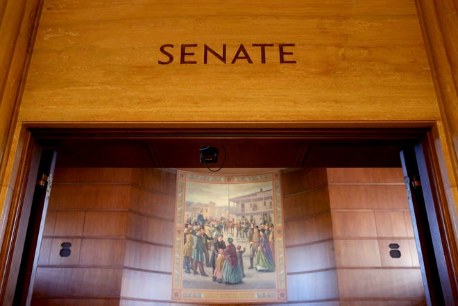 The Senate at the Oregon State Capitol in Salem on Tuesday, Feb. 26, 2019.