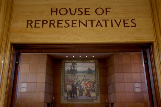 The House of Representatives at the Oregon State Capitol in Salem on Tuesday, Feb. 26, 2019.