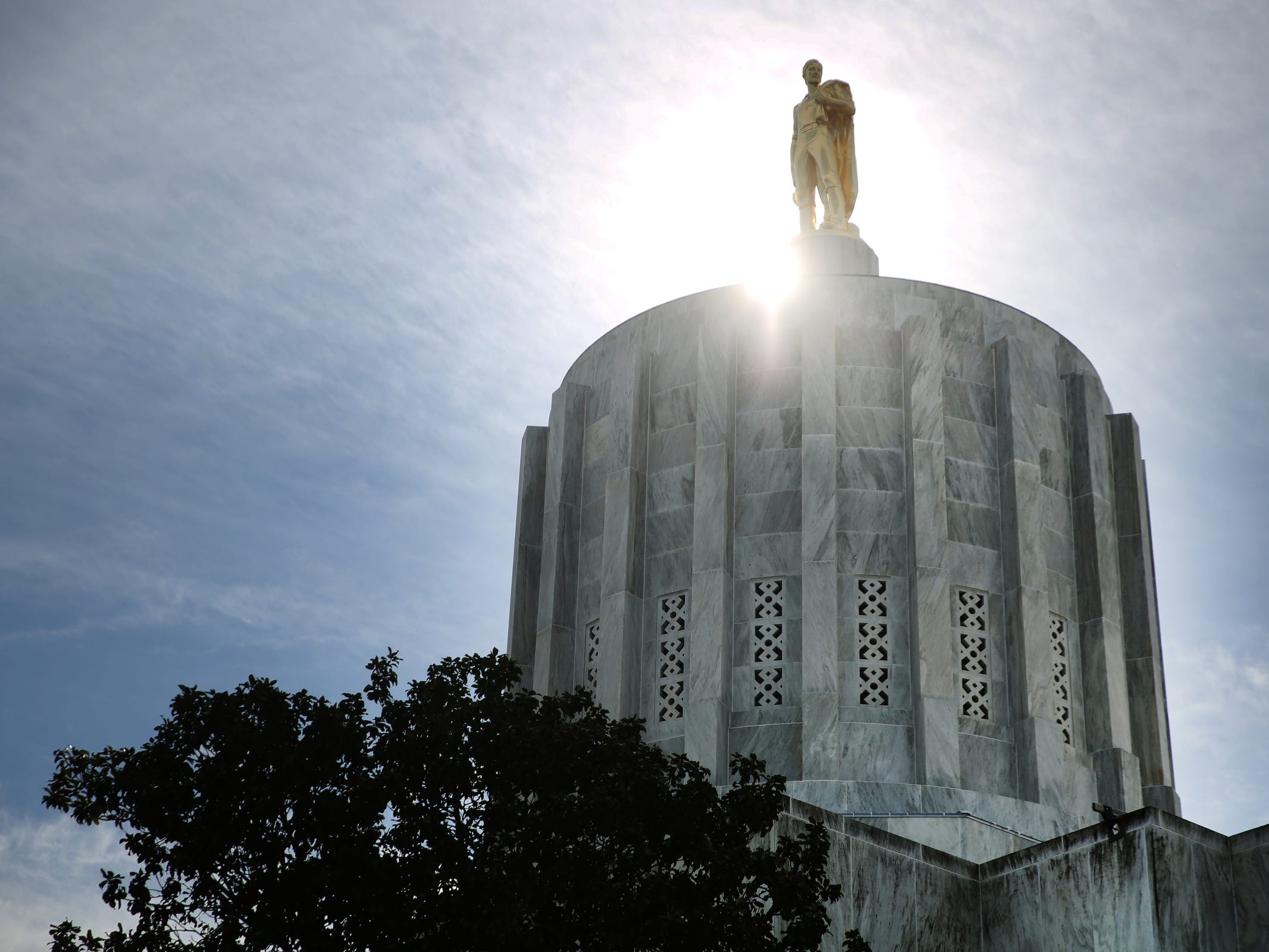 The Oregon State Capitol in Salem on Tuesday, Feb. 26, 2019.