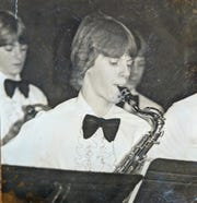 The Keeping the Arts foundation donated $25,000 to Stayton High School in memory of Damon Gehlen, pictured playing the saxophone.