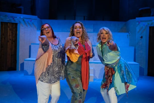 "Pentacle Theatre's production of ""Mamma Mia!"" will run from March 1-23."