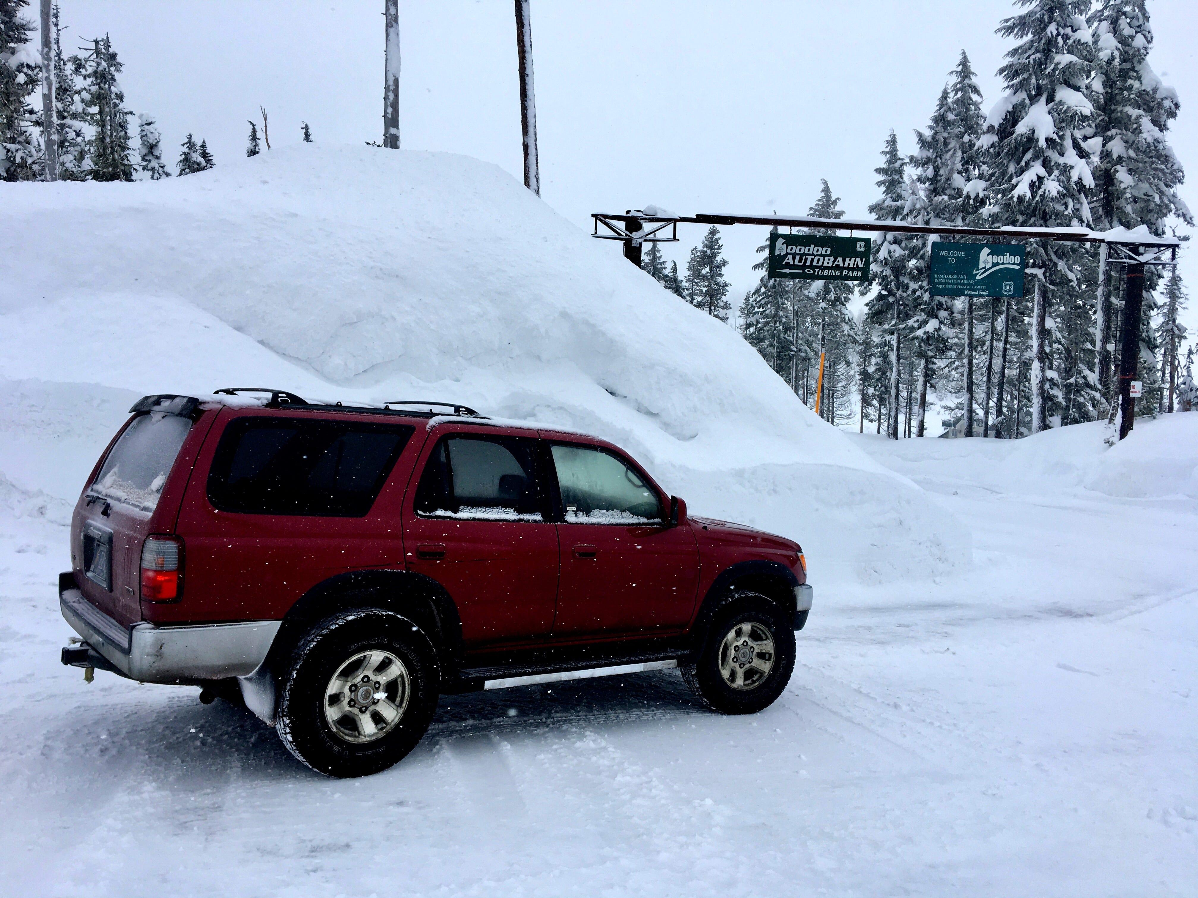 High snow near Hoodoo Ski Area on Santiam Pass on Feb. 26, 2019.