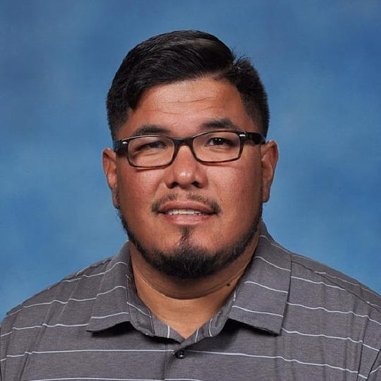 San Saba head footballl coach Andreas Aguirre was promoted from defensive coordinator to replace Jerod Fikac, who left after two seasons.