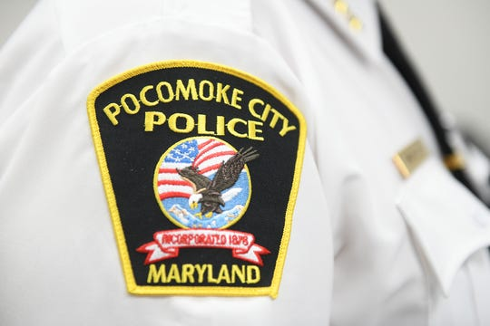 Pocomoke City Police Patch/Badge.