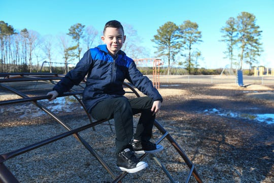 Jesse Burdette, 9, Accomack County was born with congenital heart defect and wants others on the Shore to know they are not alone.