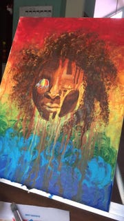 Art by Aimee Louvierre will be featured in NOW's Women's History Month art exhibition 6 p.m. March 2 at Minicine.