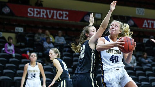 Lindsay Dorr guided Concordia to the NSIC South crown