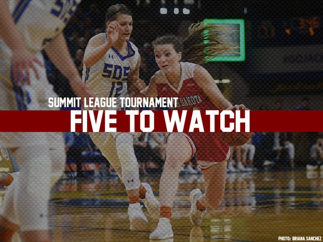 Five women players to watch at the 2019 Summit League Tournament.