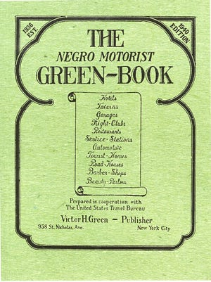 The cover of the 1940 edition of the Green Book. Postal worker Victor H. Green started publishing it in 1936 as a guide to help African Americans find safe places to stay while traveling. The annual guide was published until 1966-1967.