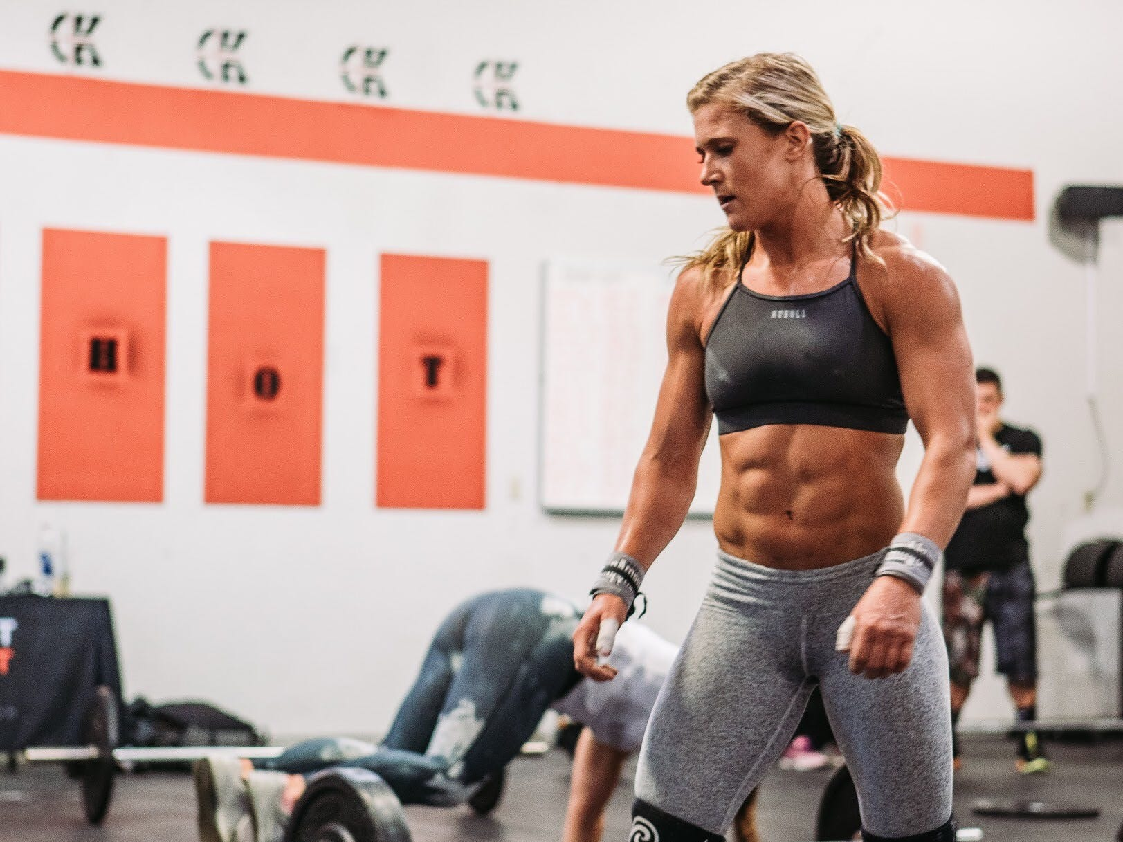 "Jessica Griffith will compete in the semifinals Thursday on Dwayne ""The Rock"" Johnson's new show ""The Titan Games"" on NBC from 7-9 p.m local time."