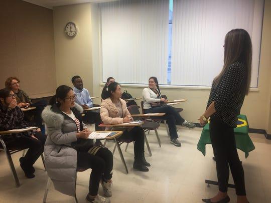 Marluce Batchman teaches Portuguese.