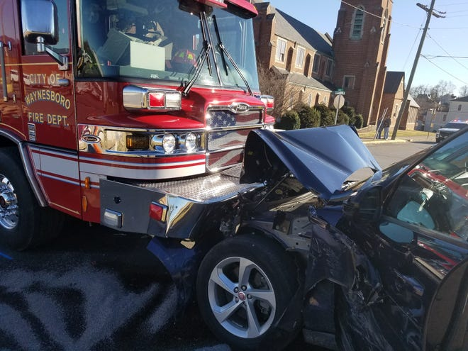 Waynesboro Police Department investigated a 7-vehicle crash Monday, Feb. 25, 2019 that sent two the hospital.