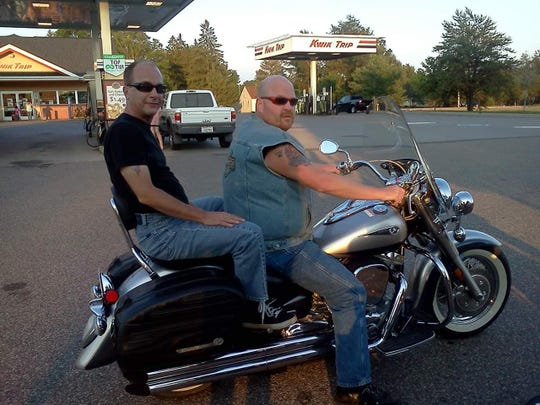 Riding motorcycles was a favorite pastime of Keith Kitsembel-Rasmussen and Allen Rasmussen.