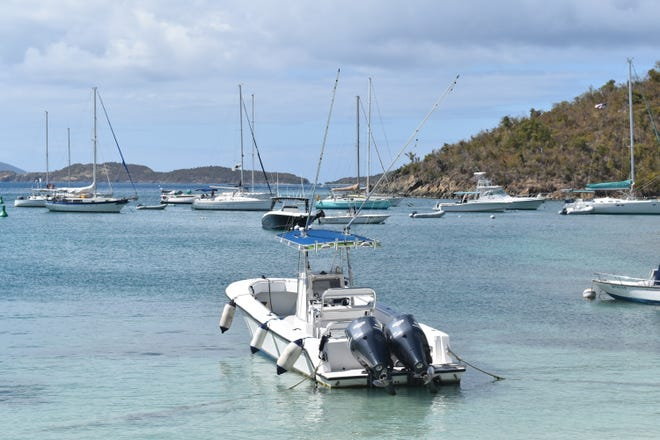St. John was hit by back to back hurricanes but the boats and the island are back in action.