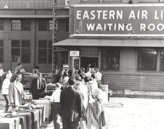 By 1950, Eastern had 15 employees at the Vero Beach airport and increased the number of passengers they were able to carry daily from six to 141, with further growth anticipated.