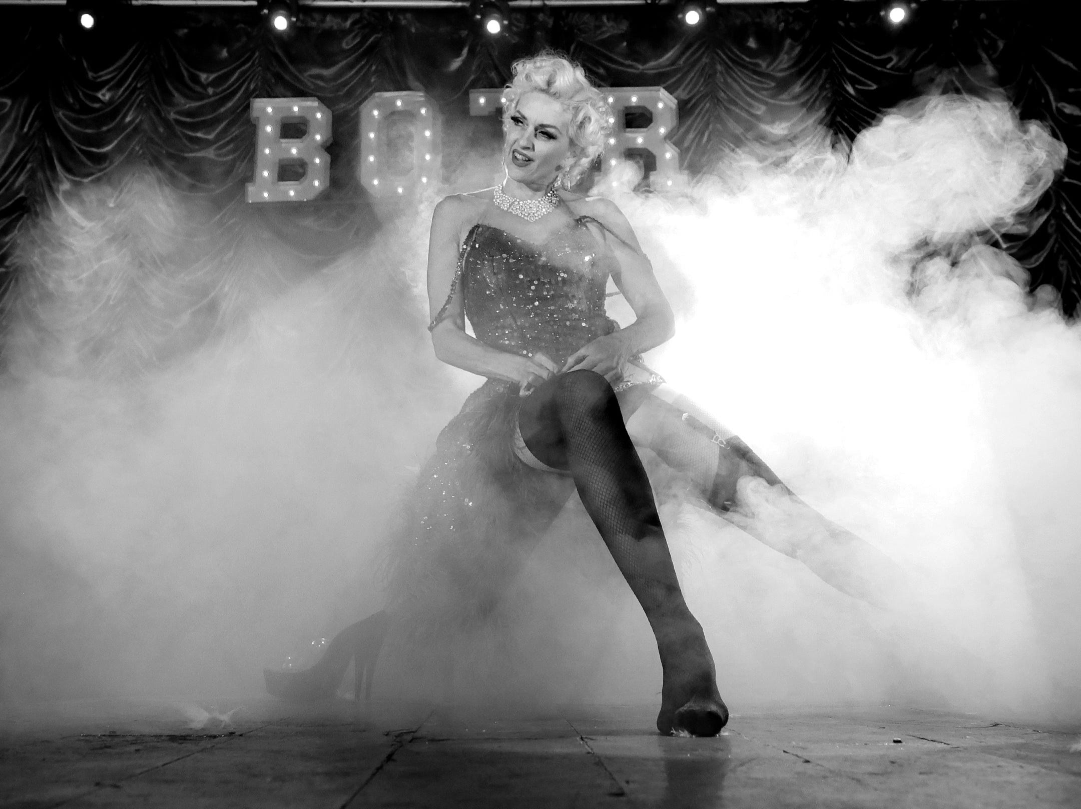 Burlesque on the Rio took over the stage at Touch Bar in east El Paso recently bringing beauty, laughs and art to the borderland region. The show featured well-know burlesque performer Kitten De Ville from Los Angeles. The next show is May 4 at Touch Bar.