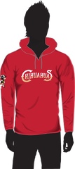 The hoodie giveaway will be Aug. 26 at the El Paso Chihuahuas. It is resented by Sarah Farms.