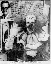 Howell Eurich as Bozo the Clown