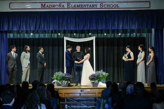 Jordan and Amy Avnet were married at Madrona School in the Conejo Valley in February. They wanted to tie the knot in the same place they met as fourth graders.