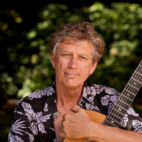 Jim Kimo West plays 7 p.m. on March 2 at the Beatrice Wood Center for the Arts in Ojai. West is recognized as one of the world's top slack key guitarists.