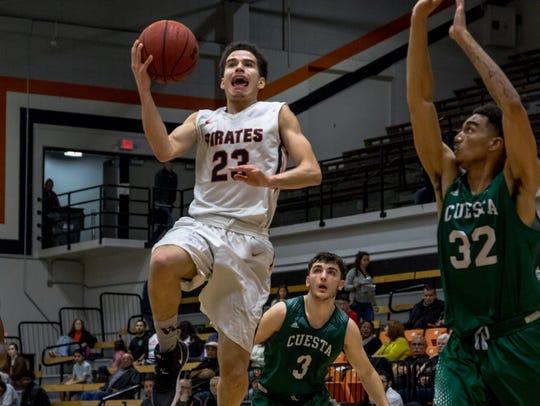 Freshman guard Jelani Bell has been part of a strong freshman class for the Ventura College men's basketball team.