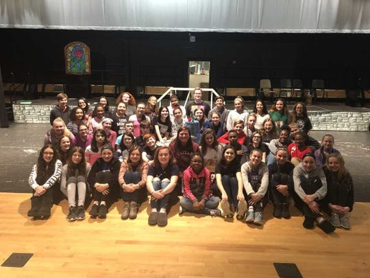 """Lakeside Middle School's spring musical, Disney's """"Beauty and the Beast,"""" will be presented at 7 p.m. March 1 and 2 in the school auditorium at 2 N. Sharp St., Millville. Tickets are $5."""
