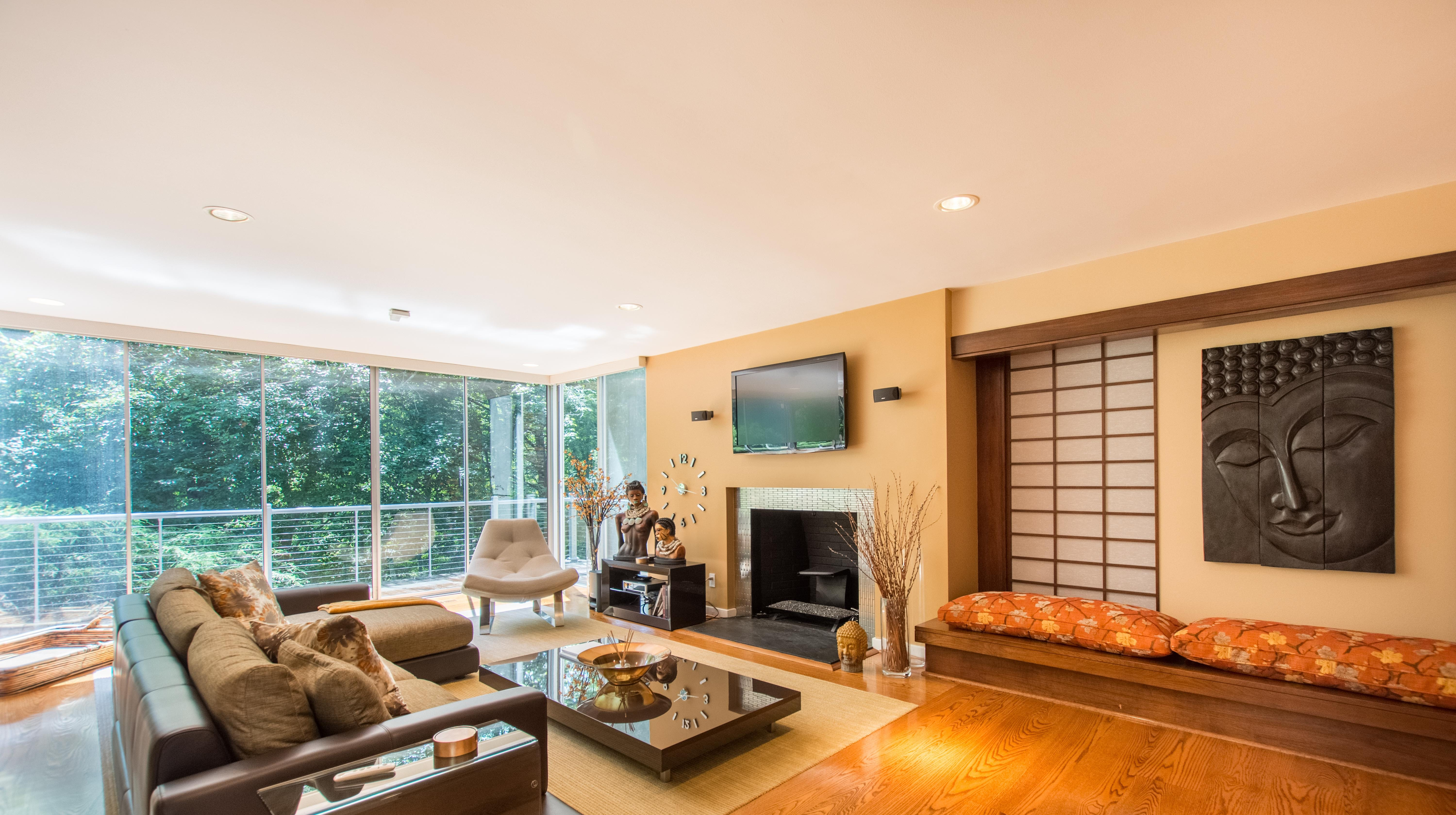 Tour this three-level, Frank Lloyd Wright style home sitting on 3.39 acres in Hockessin.