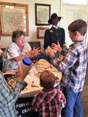 The Rebecca Jane Fisher Chapter of the Daughters of the Republic of Texas and the Wichita Falls Public Library will join together to do a Texas Independence Day and History Trunk Show beginning at 11 a.m. Saturday at the Library.