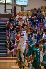 True freshman Tayvion Johnson is averaging 7.8 points in his past six games with Midwestern State.