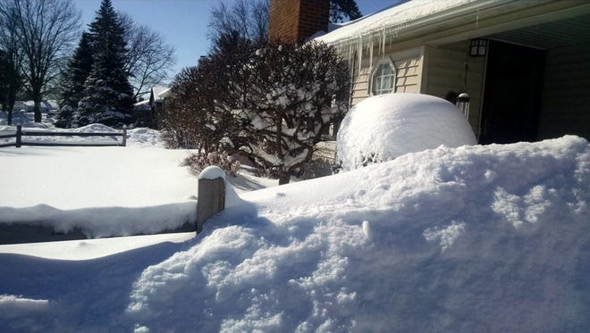Growing snow piles remind author Jerry Apps of the winters from his boyhood.
