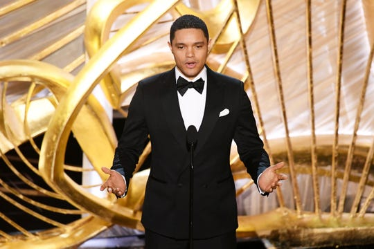Much of the Twitter commentary about Trevor Noah's Oscars joke was about his delivery. He made it with a completely straight face.