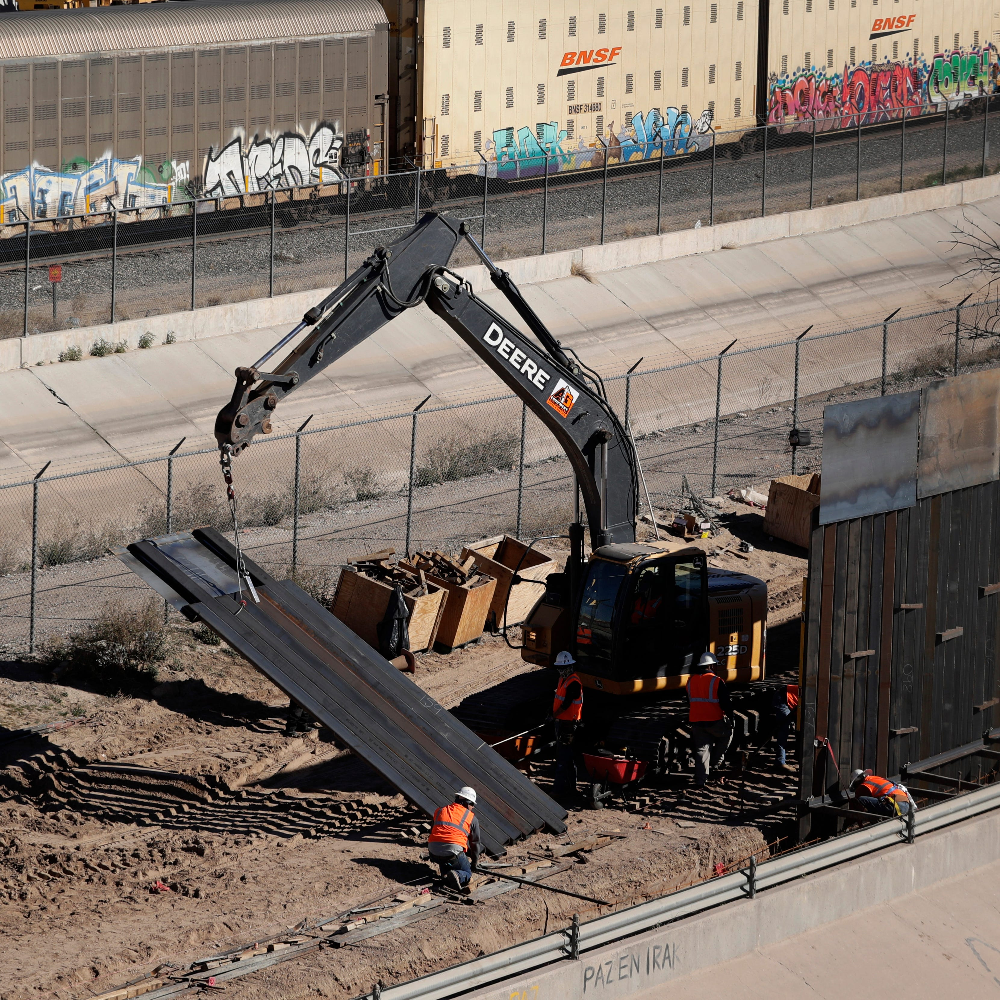 Border wall divides Texas: Lone Star voters evenly split on need for barrier, poll finds