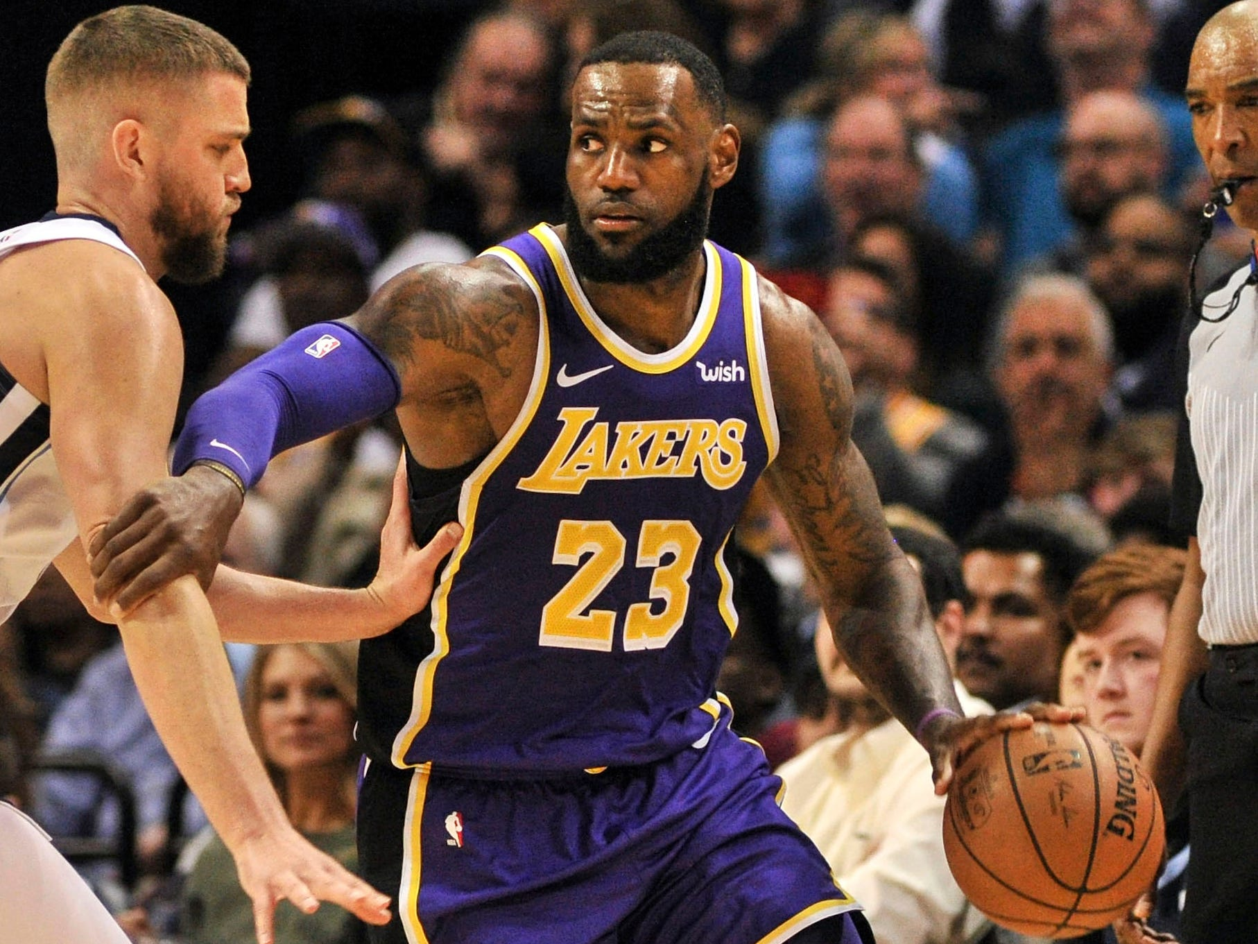 87. LeBron James, Lakers (Feb. 25): 24 points, 12 rebounds, 11 assists in 110-105 loss to Grizzlies (sixth of season).