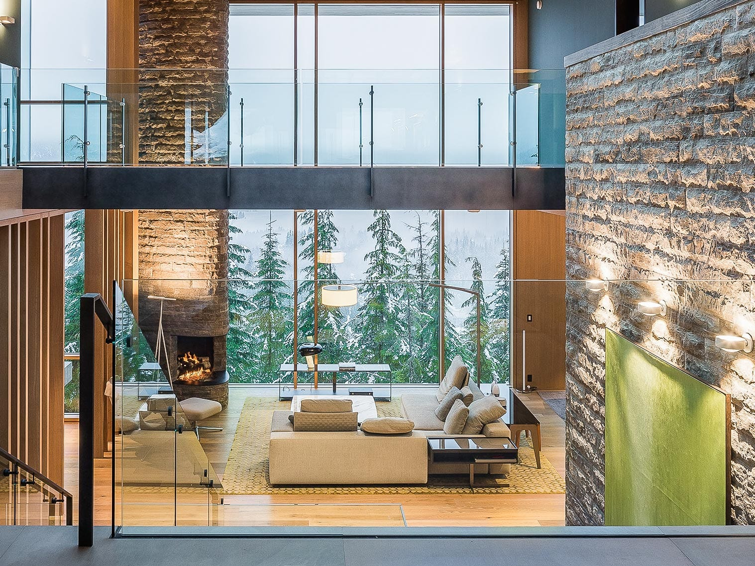 This six-bedroom property in Whistler, Canada, sleeps 14 and rents for  $7,749 - $11,624 a night.