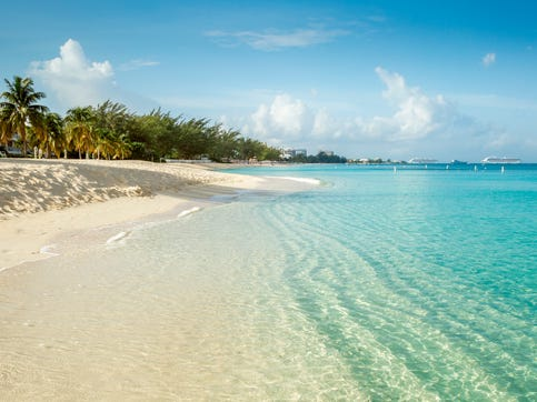 No. 8: Seven Mile Beach, Cayman Islands.