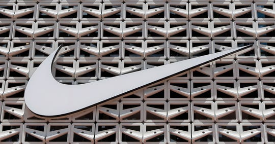 The Nike logo at a store in Miami Beach, Fla., in a 2017 image.