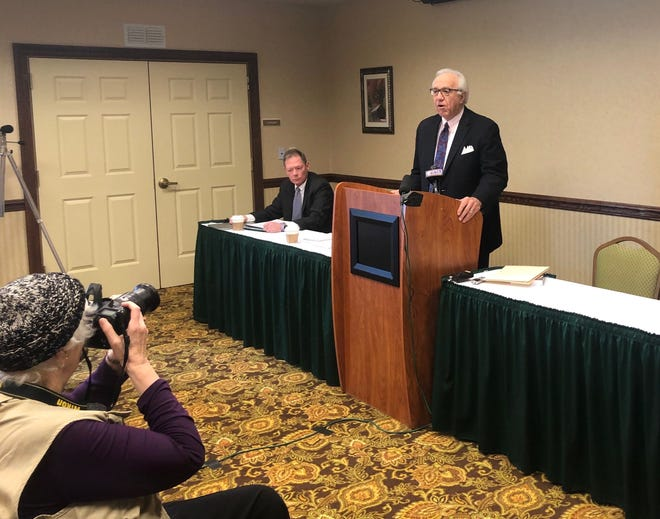 Attorney AL Lindsay, who's representing former Penn State assistant football coach Jerry Sandusky, announced Monday he's working to get Sandusky a new trial.