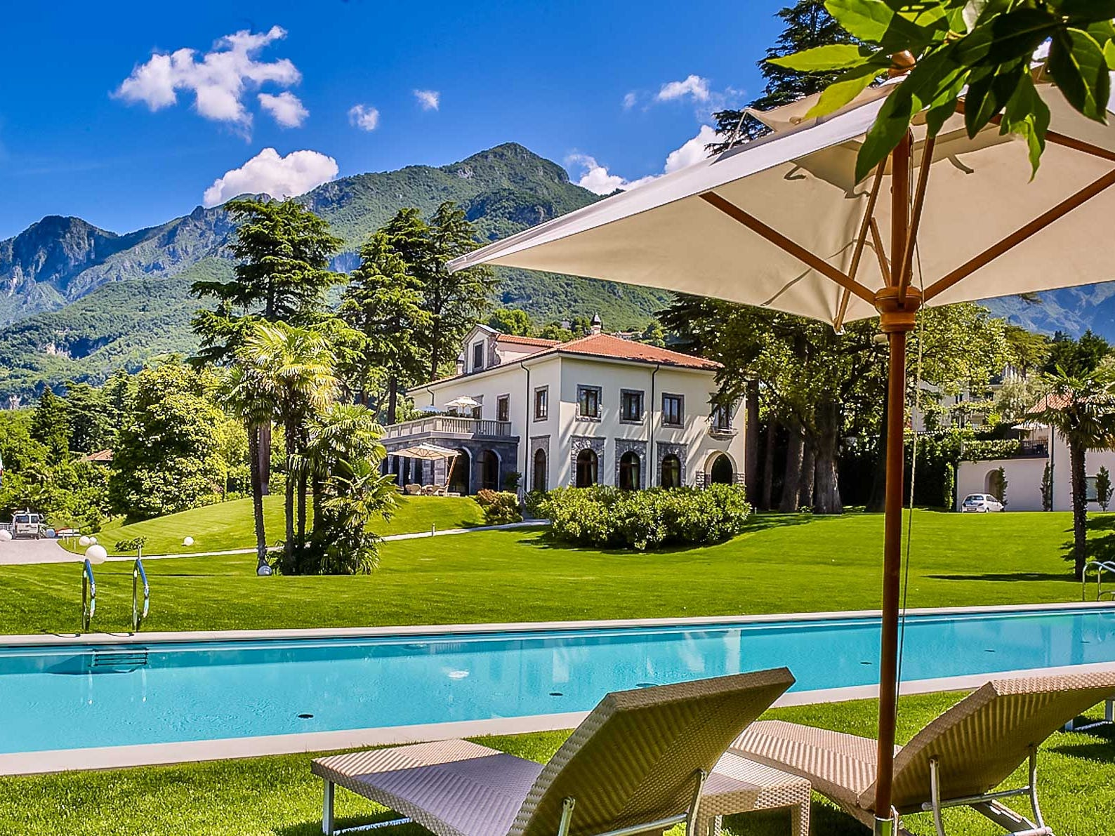 This five-bedroom property on Lake Como in Italy sleeps 10 and rents for $6,974 - $6,974 a night.