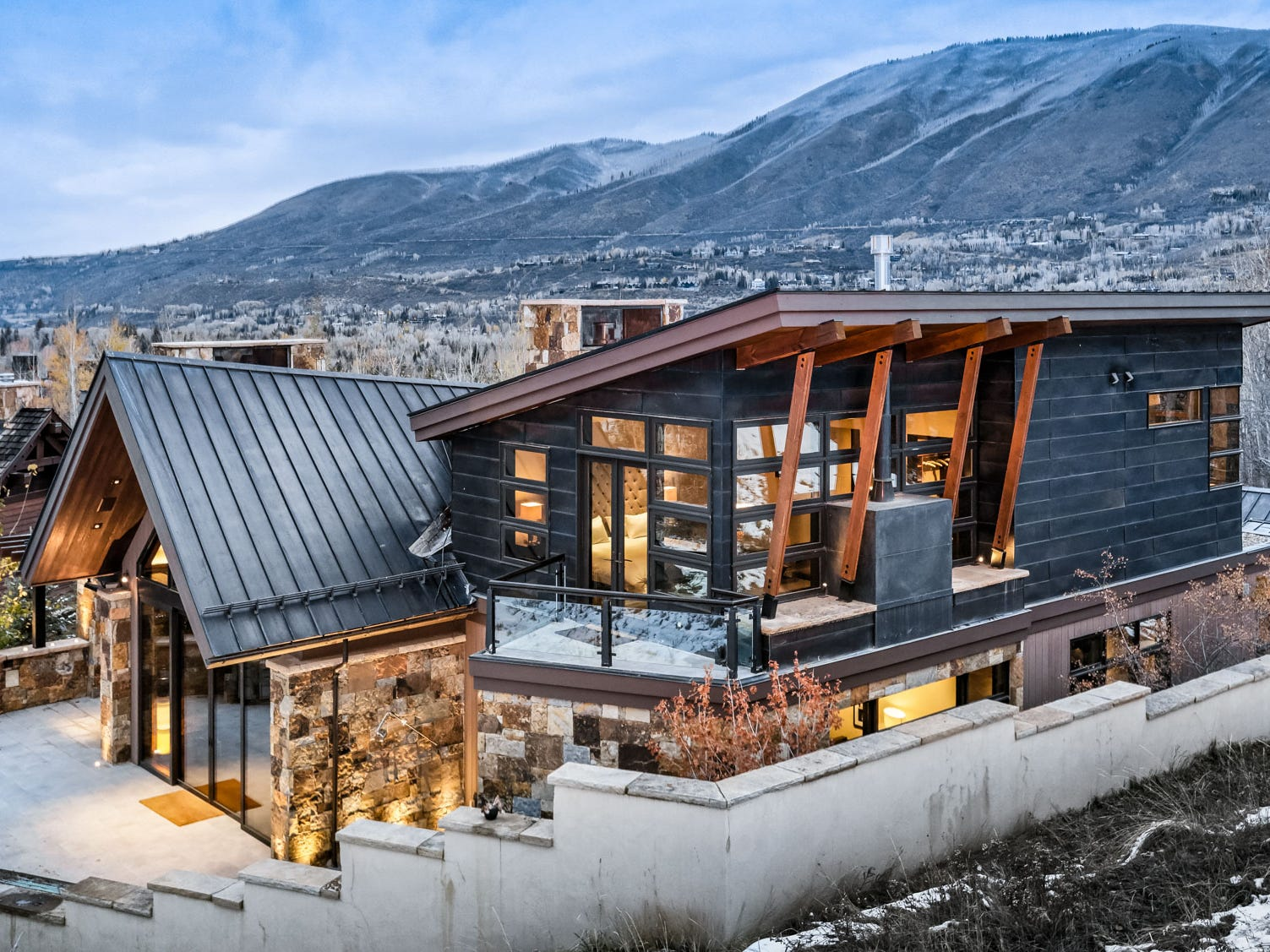 This seven-bedroom property in Aspen, Colorado, sleeps 18 and rents for $10,000 - $30,000 a night.
