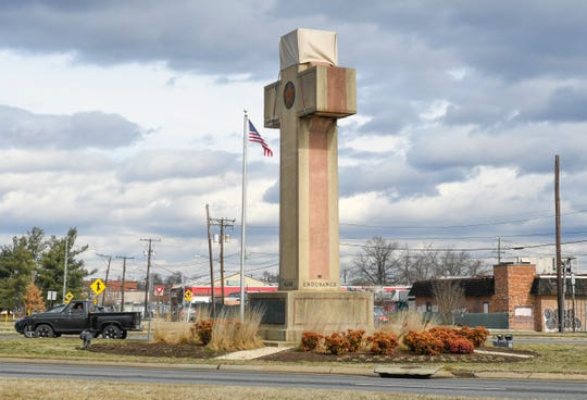 A 40-foot Latin cross in Bladensburg, Md., is dedicated to the memory of World War I veterans, but it's run into trouble at the Supreme Court.