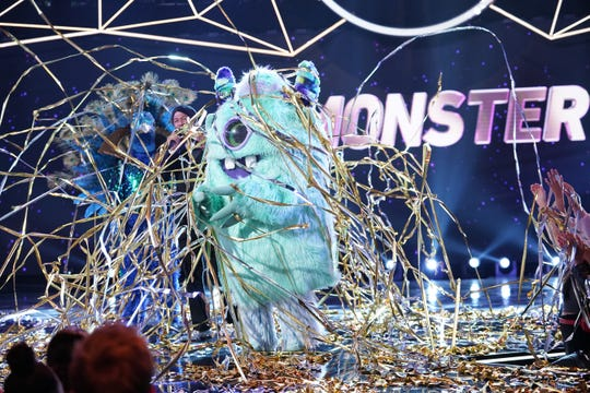 Here's your 'Masked Singer' winner: the streamer-covered Monster.