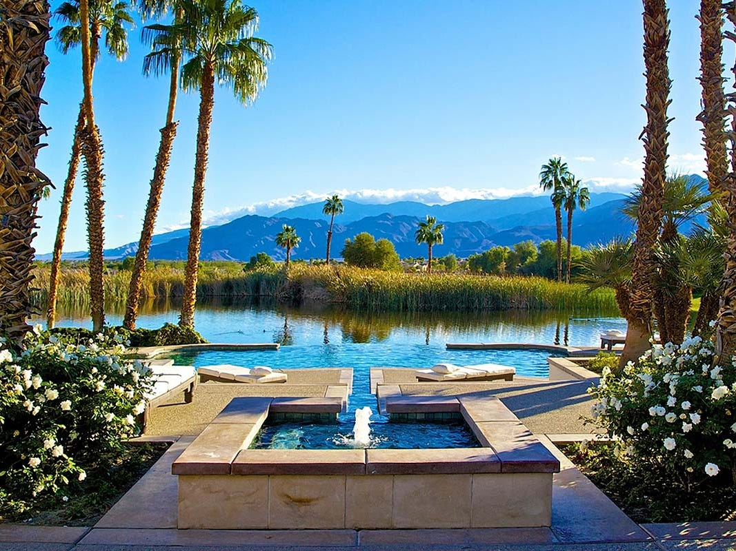 This 13-bedroom property in La Quinta, California, sleeps 26 and rents from $5,900 a night.