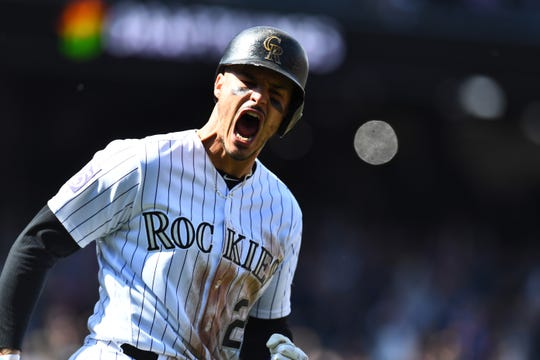 Nolan Arenado signed a $26 million deal this offseason with the Rockies.